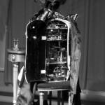 Mécanisme de l'automate Prince Eugène, réalisé par François Junod, au musée CIMA à Sainte-Croix (VD)